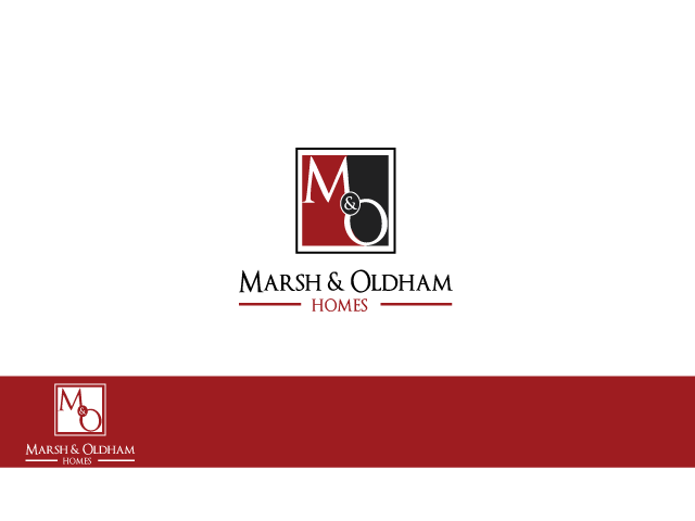 Logo Design by Iraj Fatma - Entry No. 156 in the Logo Design Contest Artistic Logo Design for Marsh & Oldham Homes.