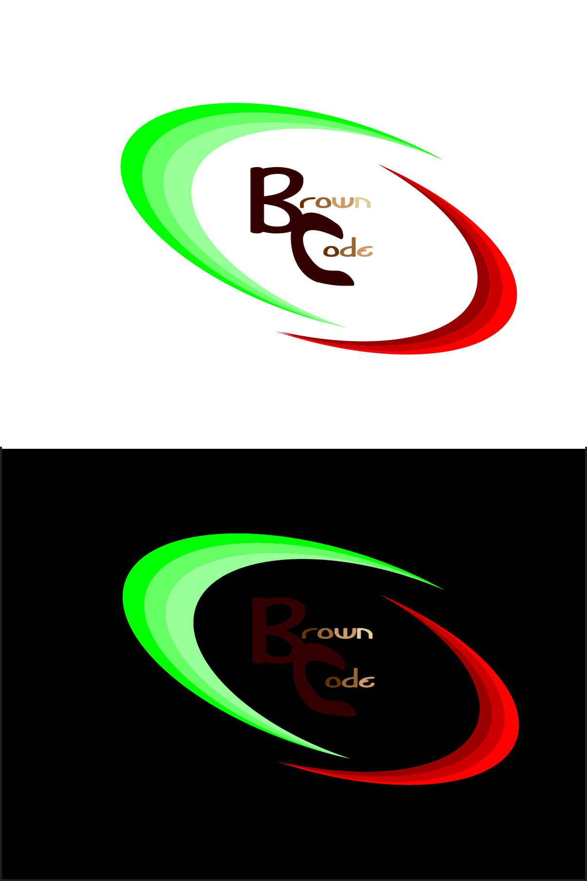 Logo Design by Nancy Grant - Entry No. 42 in the Logo Design Contest New Logo Design for Brown Code.