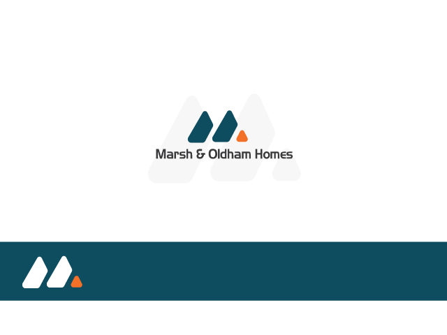 Logo Design by Iraj Fatma - Entry No. 157 in the Logo Design Contest Artistic Logo Design for Marsh & Oldham Homes.