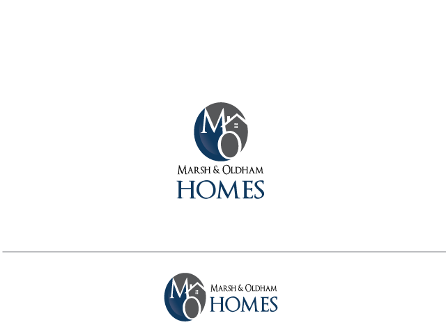 Logo Design by Iraj Fatma - Entry No. 158 in the Logo Design Contest Artistic Logo Design for Marsh & Oldham Homes.
