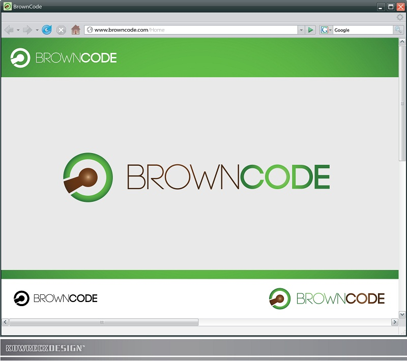 Logo Design by kowreck - Entry No. 43 in the Logo Design Contest New Logo Design for Brown Code.