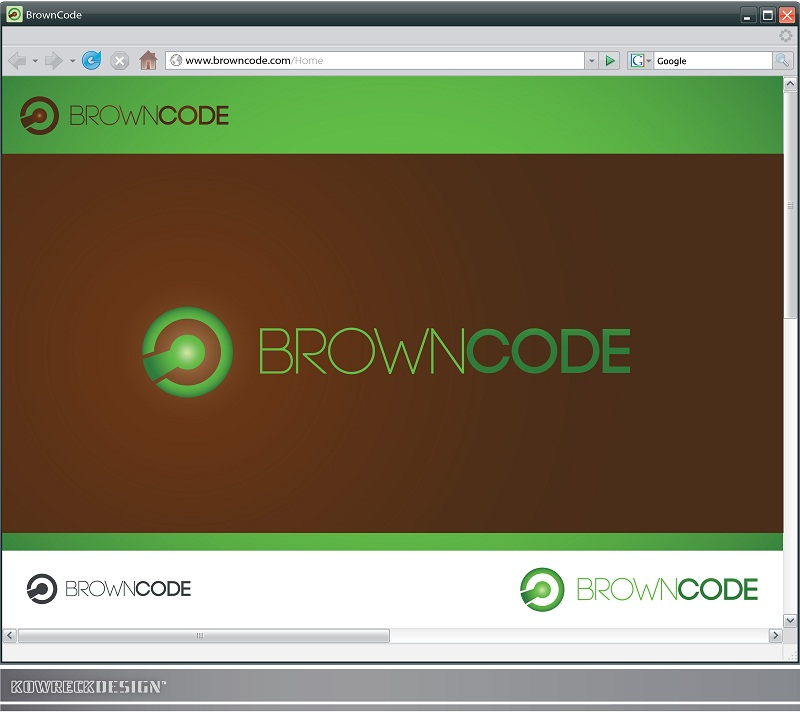 Logo Design by kowreck - Entry No. 44 in the Logo Design Contest New Logo Design for Brown Code.
