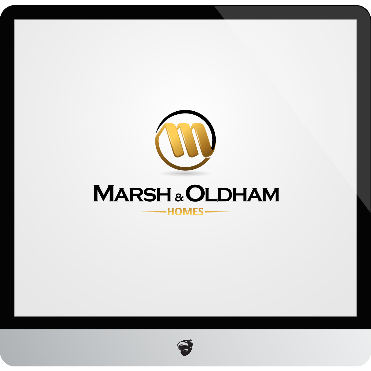 Logo Design by zesthar - Entry No. 159 in the Logo Design Contest Artistic Logo Design for Marsh & Oldham Homes.
