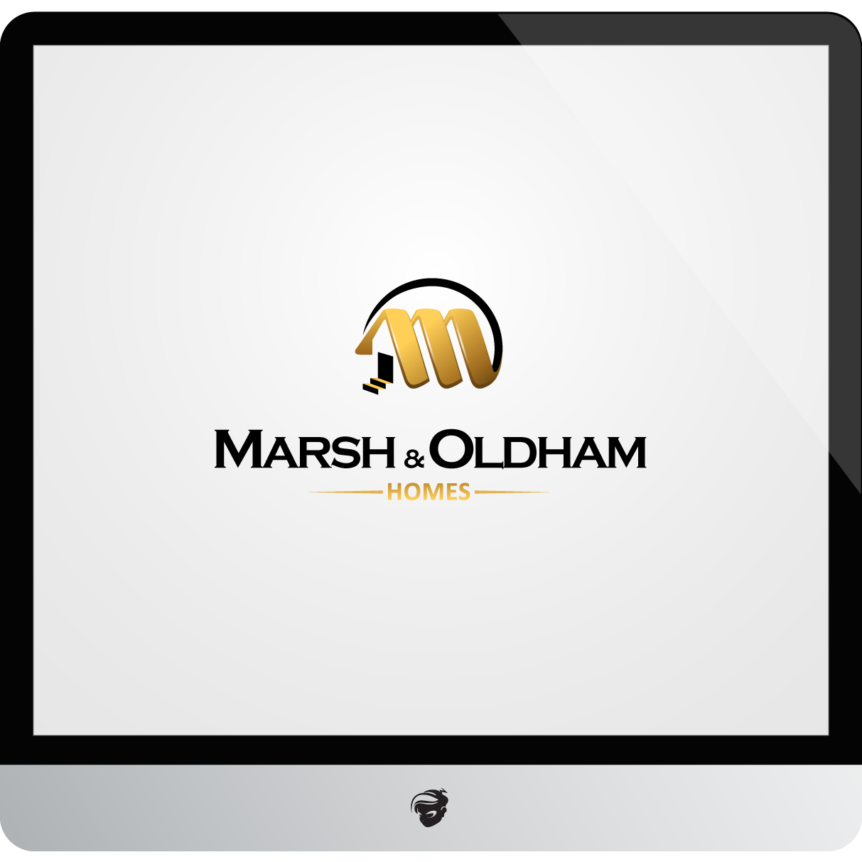 Logo Design by zesthar - Entry No. 160 in the Logo Design Contest Artistic Logo Design for Marsh & Oldham Homes.