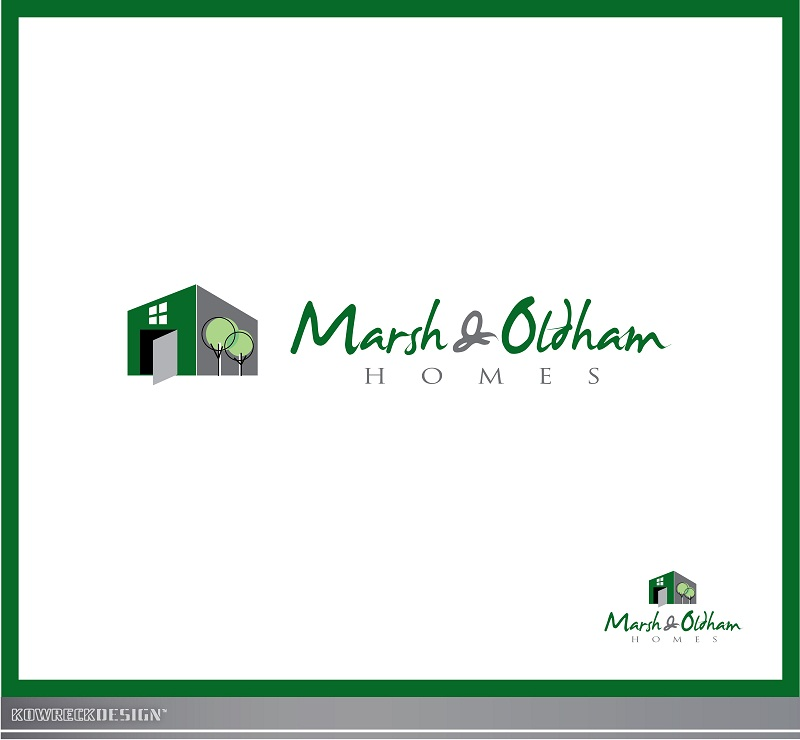 Logo Design by kowreck - Entry No. 161 in the Logo Design Contest Artistic Logo Design for Marsh & Oldham Homes.