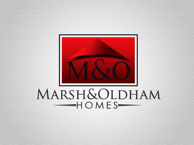 Logo Design by Mythos Designs - Entry No. 162 in the Logo Design Contest Artistic Logo Design for Marsh & Oldham Homes.