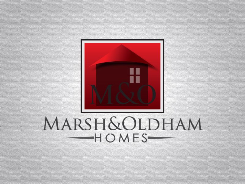 Logo Design by Mythos Designs - Entry No. 163 in the Logo Design Contest Artistic Logo Design for Marsh & Oldham Homes.