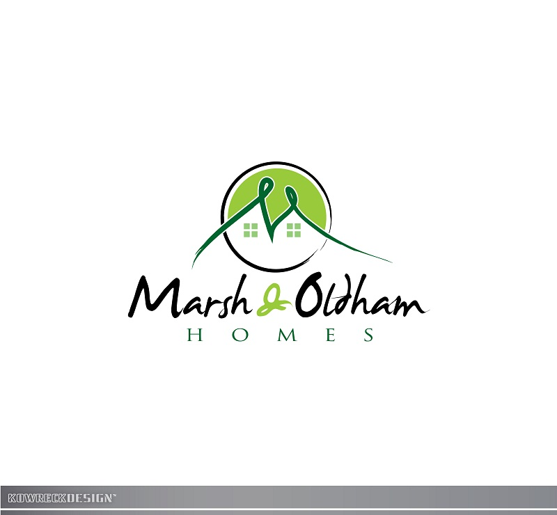 Logo Design by kowreck - Entry No. 165 in the Logo Design Contest Artistic Logo Design for Marsh & Oldham Homes.