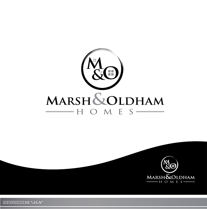 Logo Design by kowreck - Entry No. 168 in the Logo Design Contest Artistic Logo Design for Marsh & Oldham Homes.