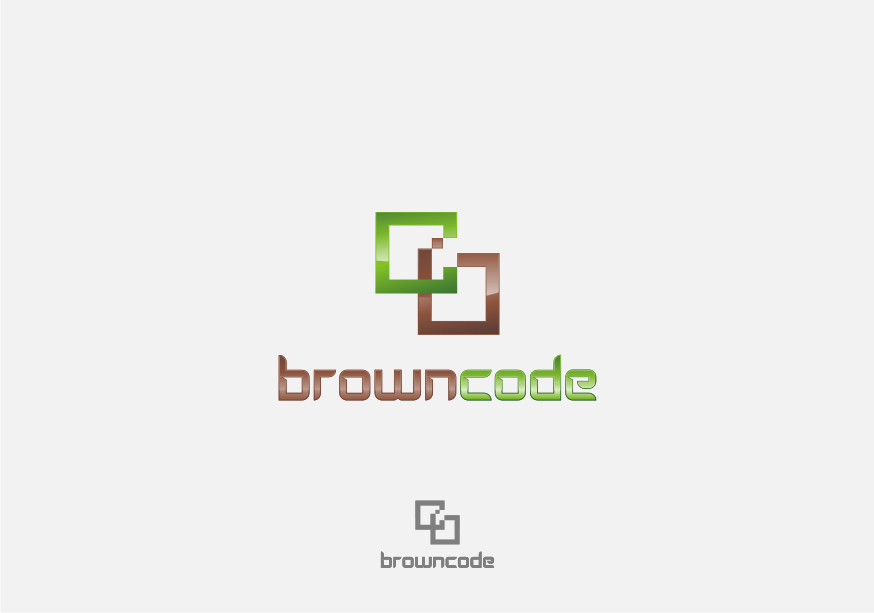 Logo Design by graphicleaf - Entry No. 46 in the Logo Design Contest New Logo Design for Brown Code.