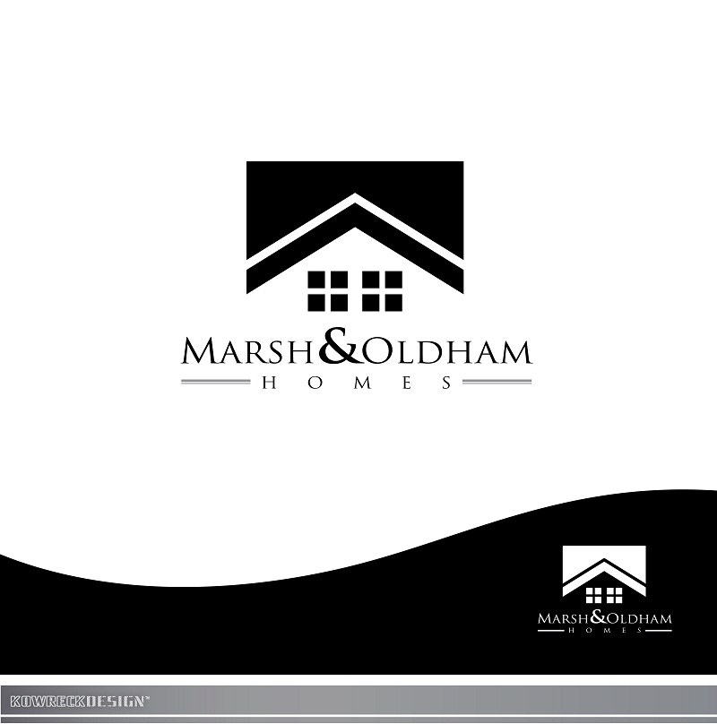 Logo Design by kowreck - Entry No. 169 in the Logo Design Contest Artistic Logo Design for Marsh & Oldham Homes.