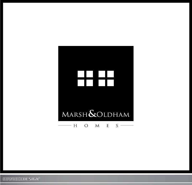 Logo Design by kowreck - Entry No. 170 in the Logo Design Contest Artistic Logo Design for Marsh & Oldham Homes.