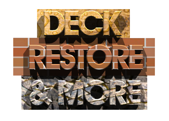 Logo Design by designoverload - Entry No. 73 in the Logo Design Contest Deck Restore & More.