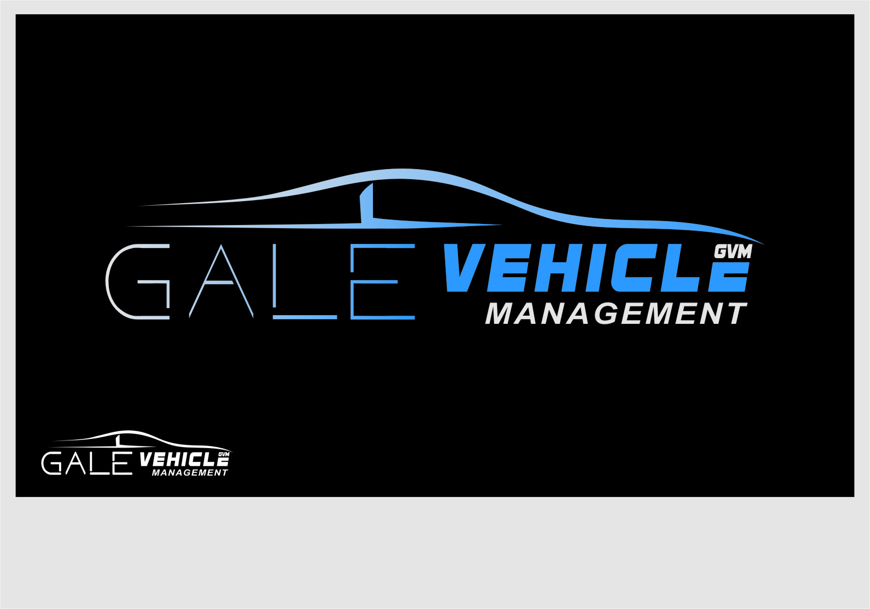 Logo Design by Ngepet_art - Entry No. 135 in the Logo Design Contest Artistic Logo Design for Gale Vehicle Management.