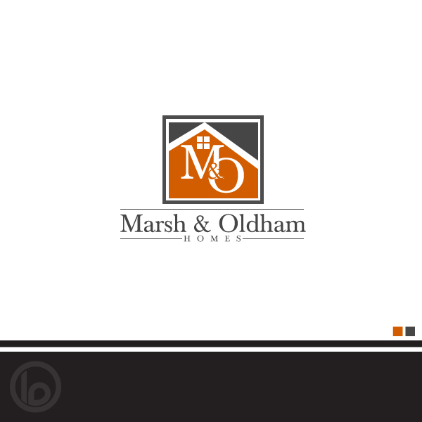 Logo Design by lumerb - Entry No. 180 in the Logo Design Contest Artistic Logo Design for Marsh & Oldham Homes.