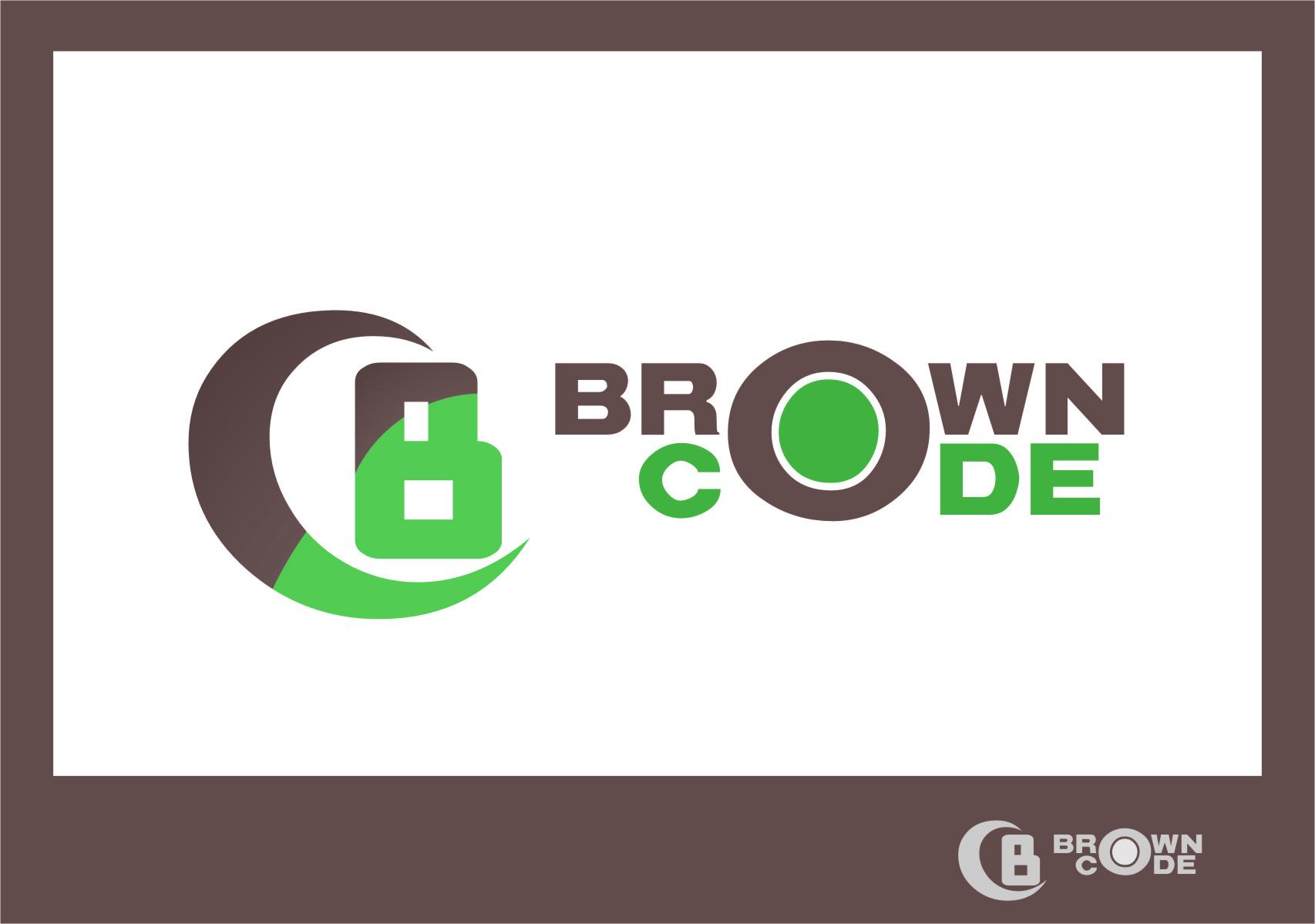 Logo Design by RasYa Muhammad Athaya - Entry No. 49 in the Logo Design Contest New Logo Design for Brown Code.