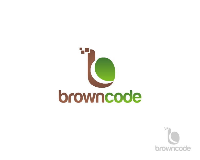 Logo Design by untung - Entry No. 50 in the Logo Design Contest New Logo Design for Brown Code.