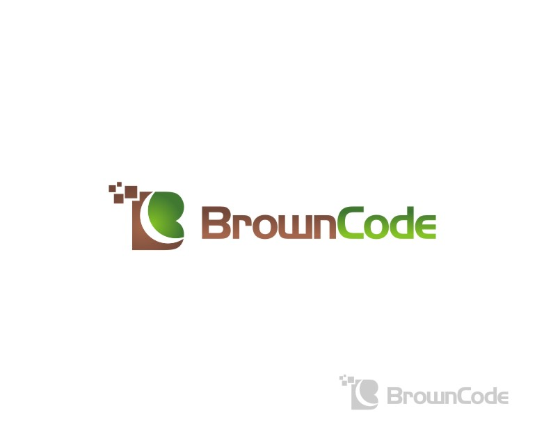 Logo Design by untung - Entry No. 51 in the Logo Design Contest New Logo Design for Brown Code.