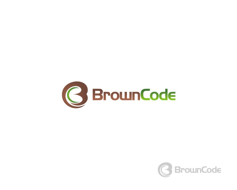 Logo Design by untung - Entry No. 52 in the Logo Design Contest New Logo Design for Brown Code.