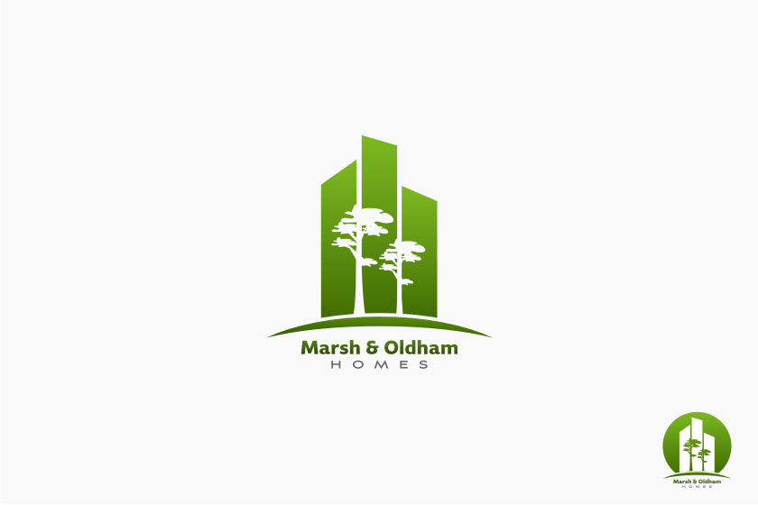 Logo Design by graphicleaf - Entry No. 190 in the Logo Design Contest Artistic Logo Design for Marsh & Oldham Homes.