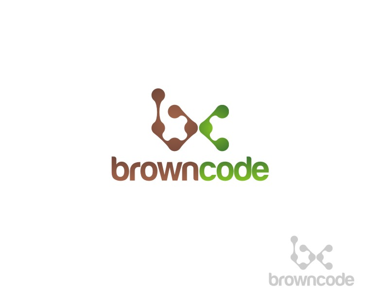 Logo Design by untung - Entry No. 53 in the Logo Design Contest New Logo Design for Brown Code.