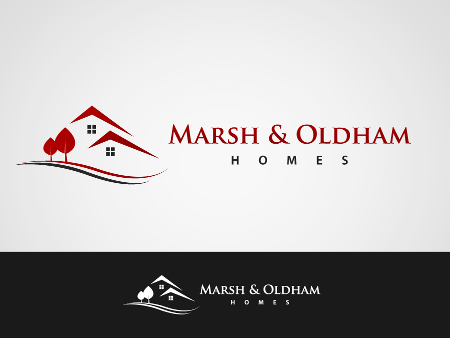 Logo Design by jpbituin - Entry No. 192 in the Logo Design Contest Artistic Logo Design for Marsh & Oldham Homes.