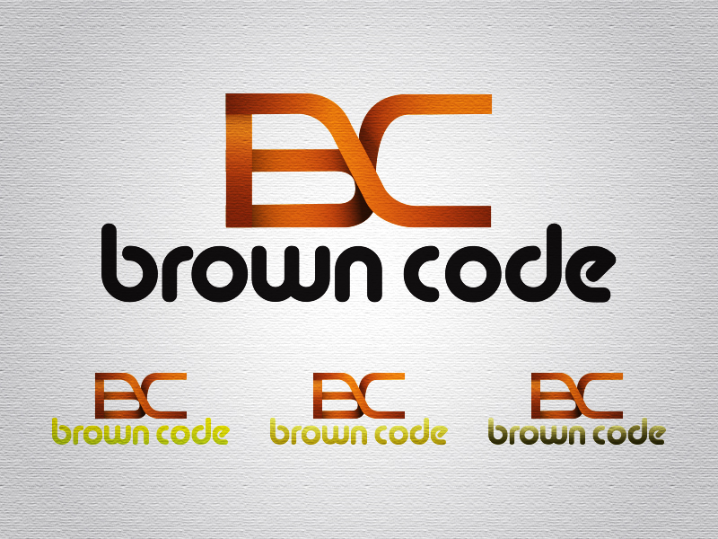 Logo Design by Mythos Designs - Entry No. 56 in the Logo Design Contest New Logo Design for Brown Code.