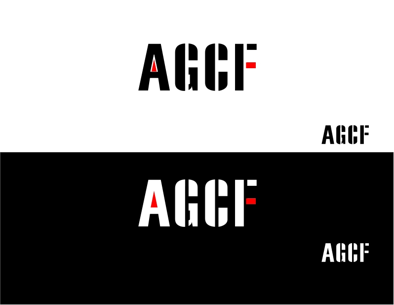 Logo Design by Private User - Entry No. 15 in the Logo Design Contest Imaginative Logo Design for AGCF.