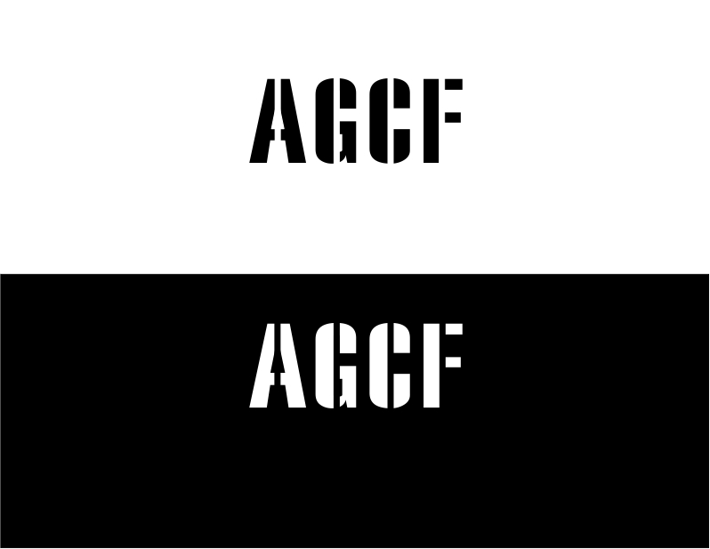 Logo Design by Private User - Entry No. 16 in the Logo Design Contest Imaginative Logo Design for AGCF.