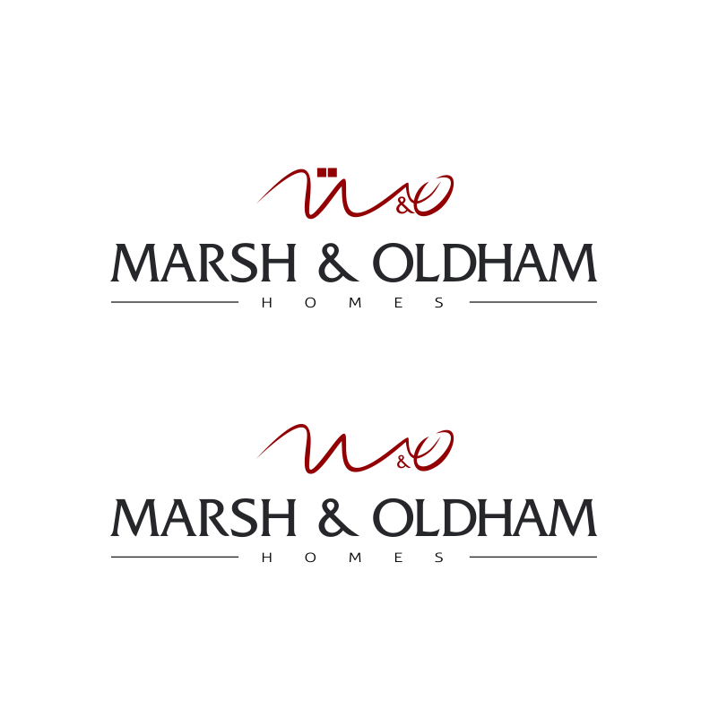 Logo Design by moisesf - Entry No. 196 in the Logo Design Contest Artistic Logo Design for Marsh & Oldham Homes.
