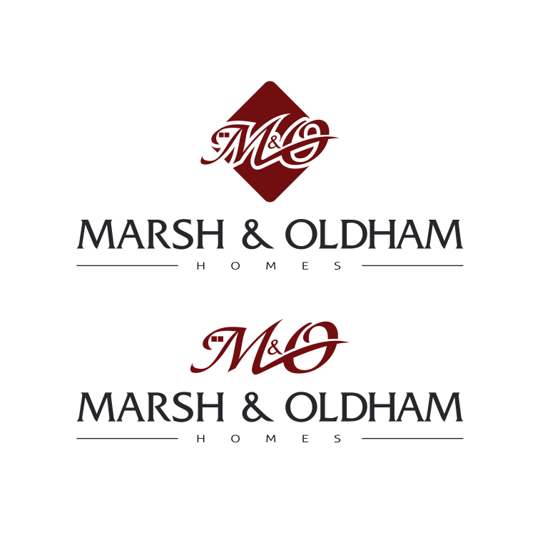 Logo Design by moisesf - Entry No. 199 in the Logo Design Contest Artistic Logo Design for Marsh & Oldham Homes.