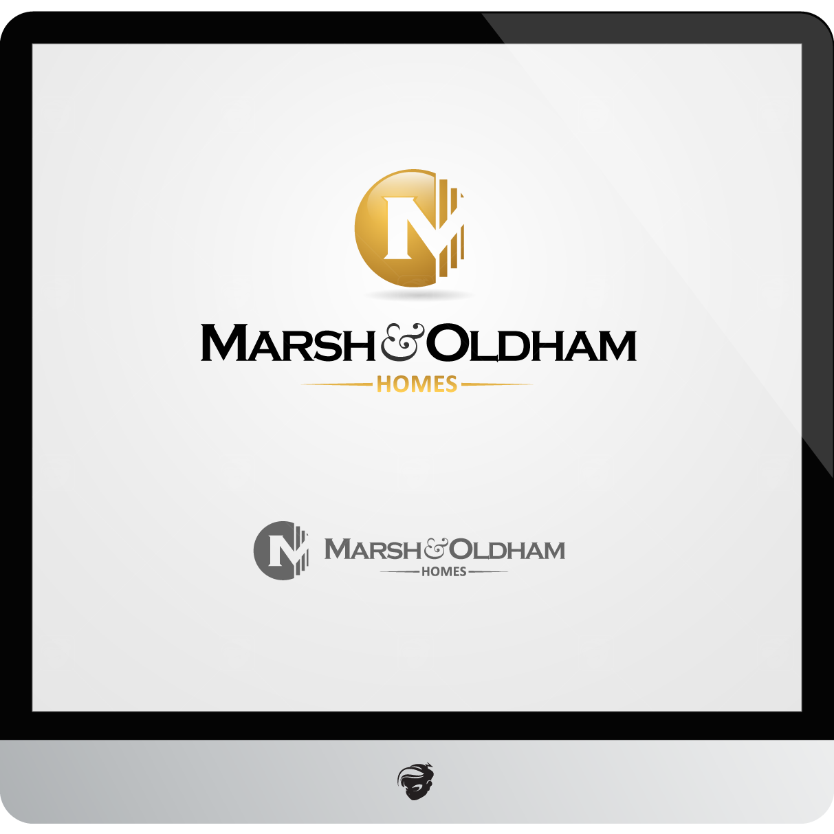 Logo Design by zesthar - Entry No. 200 in the Logo Design Contest Artistic Logo Design for Marsh & Oldham Homes.