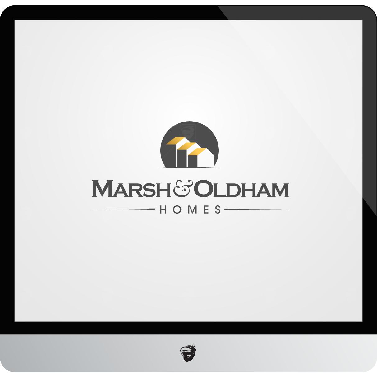 Logo Design by zesthar - Entry No. 201 in the Logo Design Contest Artistic Logo Design for Marsh & Oldham Homes.
