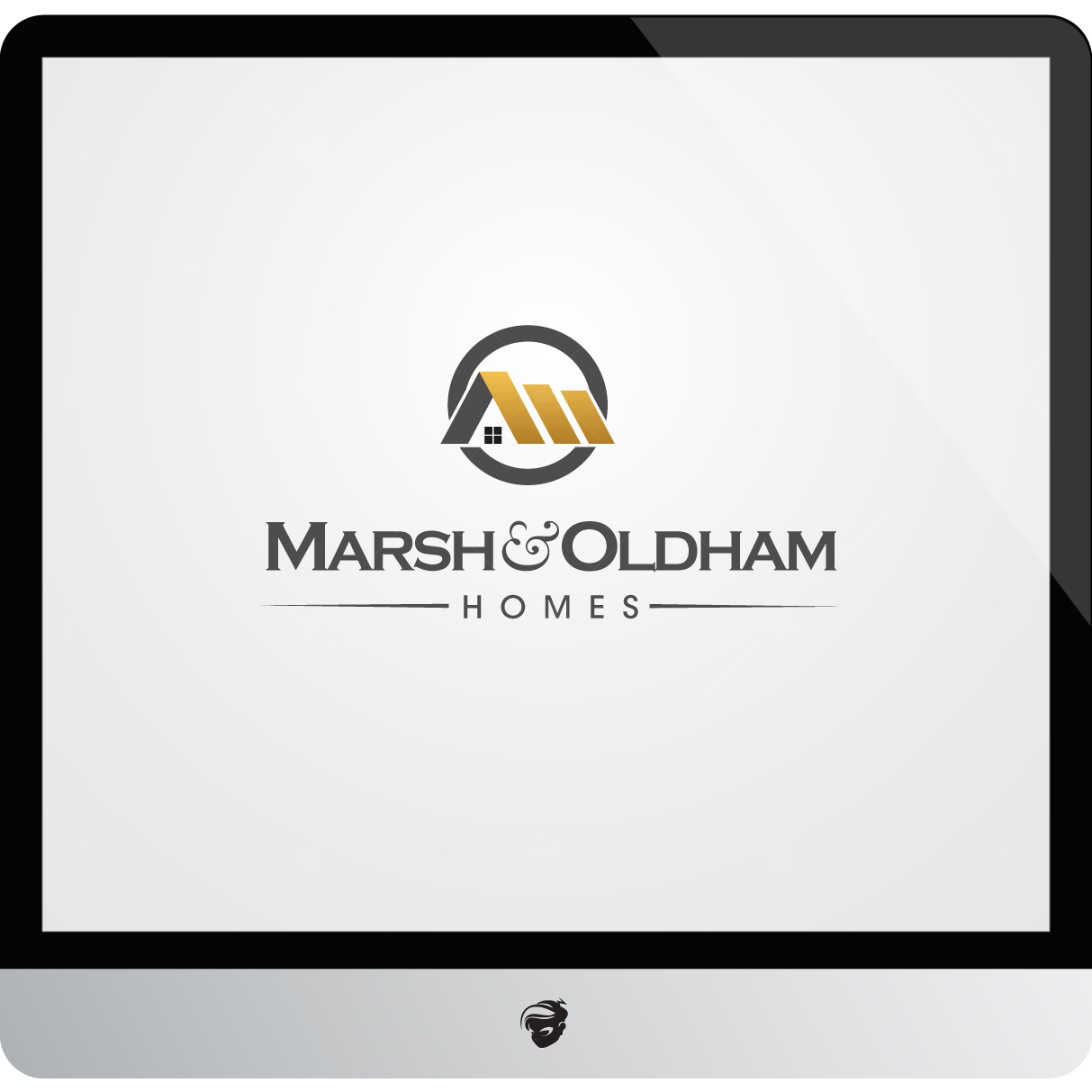 Logo Design by zesthar - Entry No. 202 in the Logo Design Contest Artistic Logo Design for Marsh & Oldham Homes.