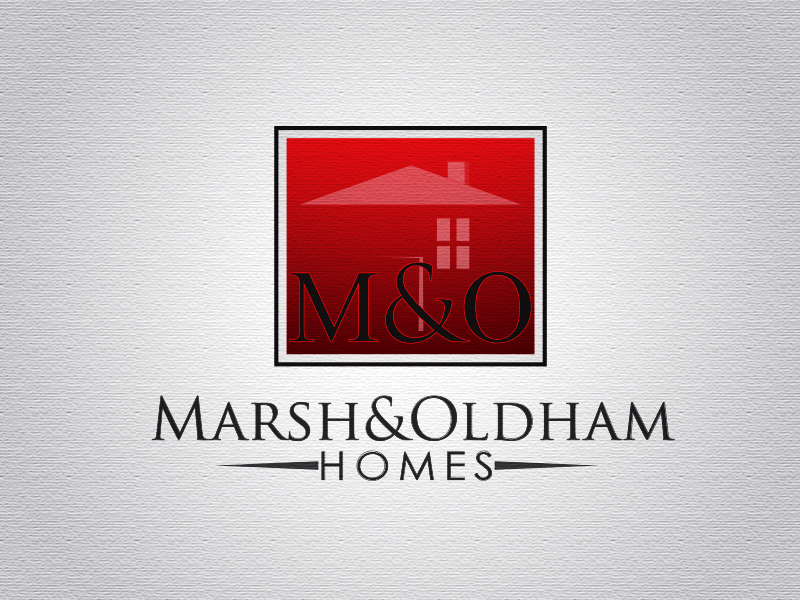 Logo Design by Mythos Designs - Entry No. 205 in the Logo Design Contest Artistic Logo Design for Marsh & Oldham Homes.