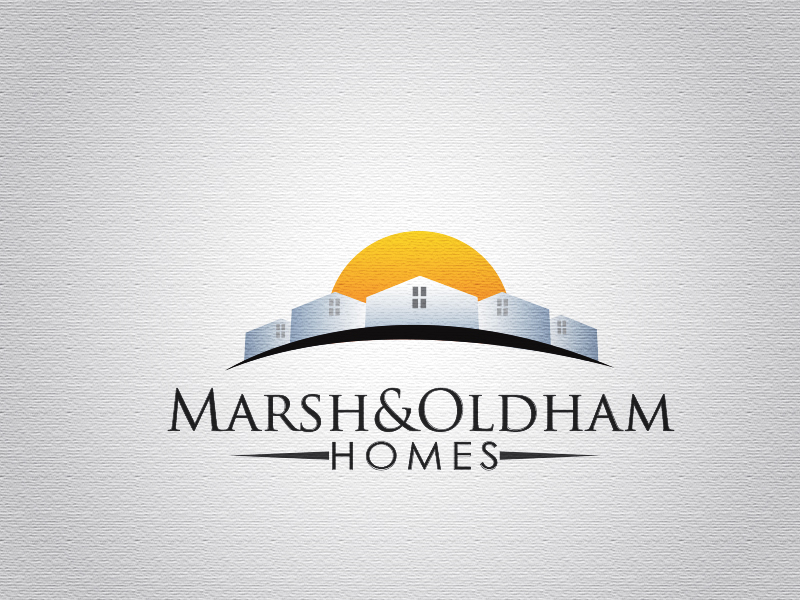 Logo Design by Mythos Designs - Entry No. 206 in the Logo Design Contest Artistic Logo Design for Marsh & Oldham Homes.