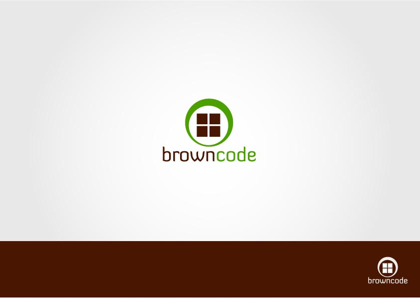 Logo Design by Osi Indra - Entry No. 59 in the Logo Design Contest New Logo Design for Brown Code.