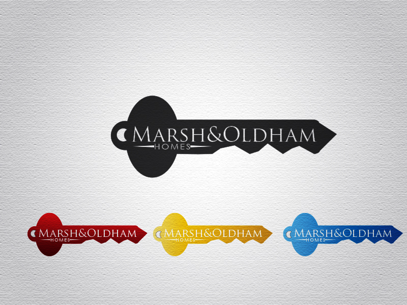 Logo Design by Mythos Designs - Entry No. 207 in the Logo Design Contest Artistic Logo Design for Marsh & Oldham Homes.