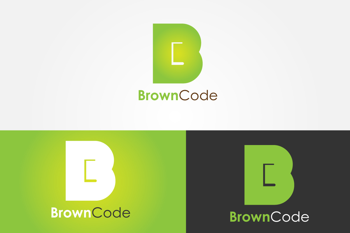 Logo Design by Jagdeep Singh - Entry No. 60 in the Logo Design Contest New Logo Design for Brown Code.