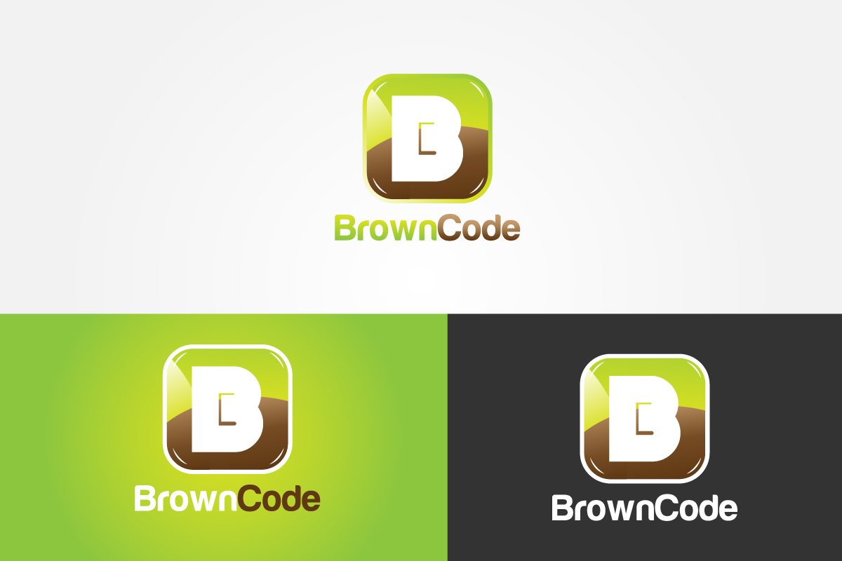 Logo Design by Jagdeep Singh - Entry No. 61 in the Logo Design Contest New Logo Design for Brown Code.