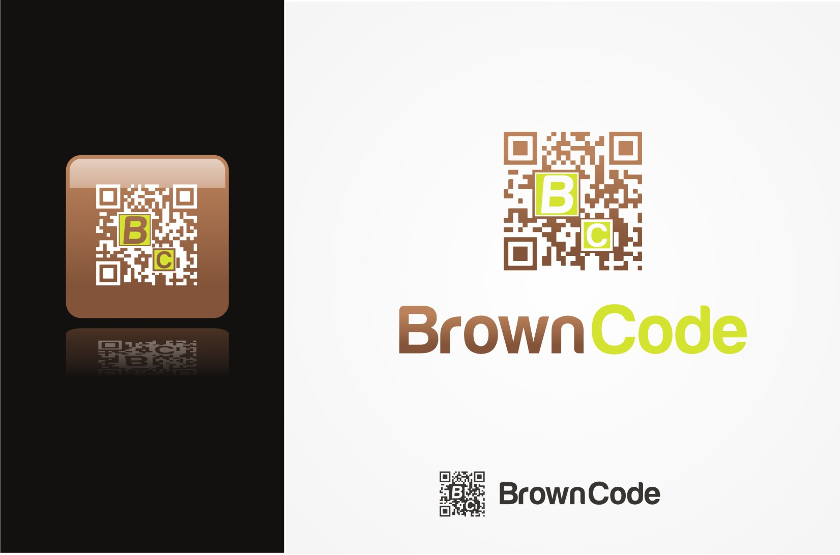 Logo Design by Pay_mo - Entry No. 62 in the Logo Design Contest New Logo Design for Brown Code.