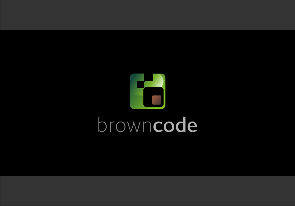 Logo Design by graphicleaf - Entry No. 64 in the Logo Design Contest New Logo Design for Brown Code.