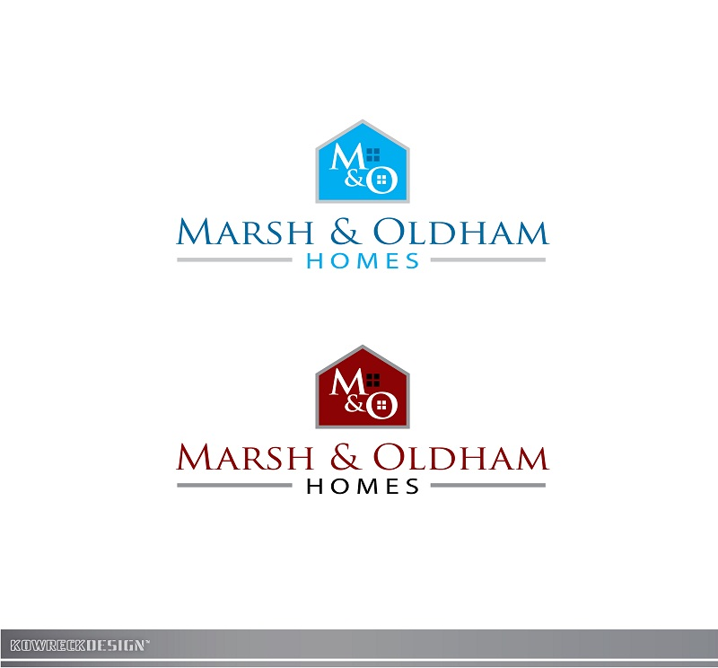 Logo Design by kowreck - Entry No. 213 in the Logo Design Contest Artistic Logo Design for Marsh & Oldham Homes.