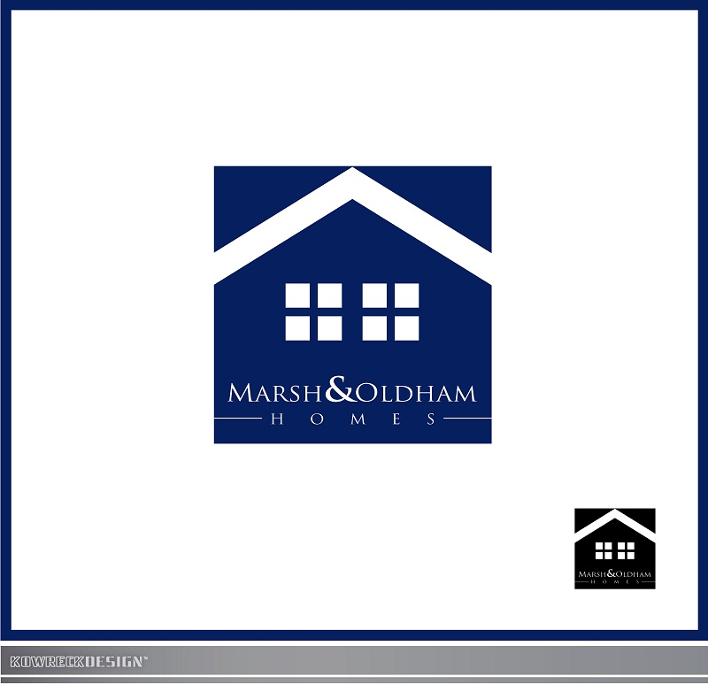 Logo Design by kowreck - Entry No. 217 in the Logo Design Contest Artistic Logo Design for Marsh & Oldham Homes.