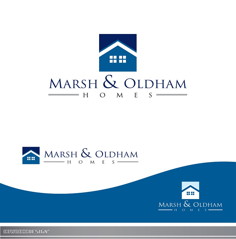 Logo Design by kowreck - Entry No. 219 in the Logo Design Contest Artistic Logo Design for Marsh & Oldham Homes.