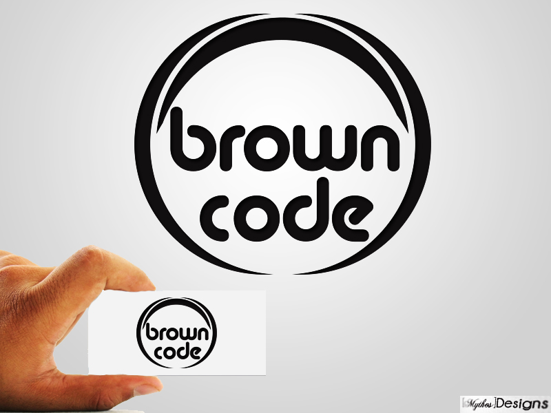 Logo Design by Mythos Designs - Entry No. 77 in the Logo Design Contest New Logo Design for Brown Code.