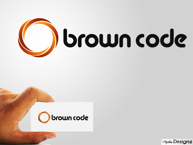 Logo Design by Mythos Designs - Entry No. 78 in the Logo Design Contest New Logo Design for Brown Code.