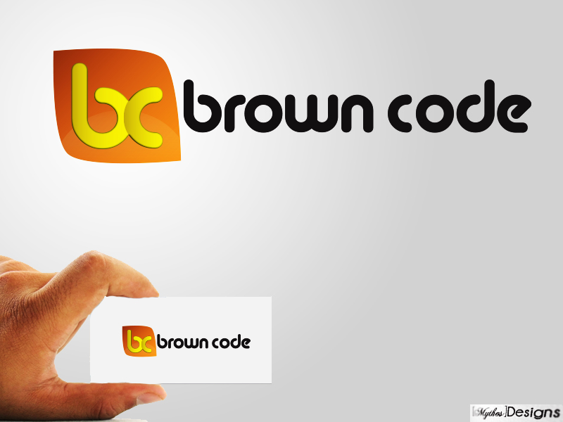 Logo Design by Mythos Designs - Entry No. 79 in the Logo Design Contest New Logo Design for Brown Code.