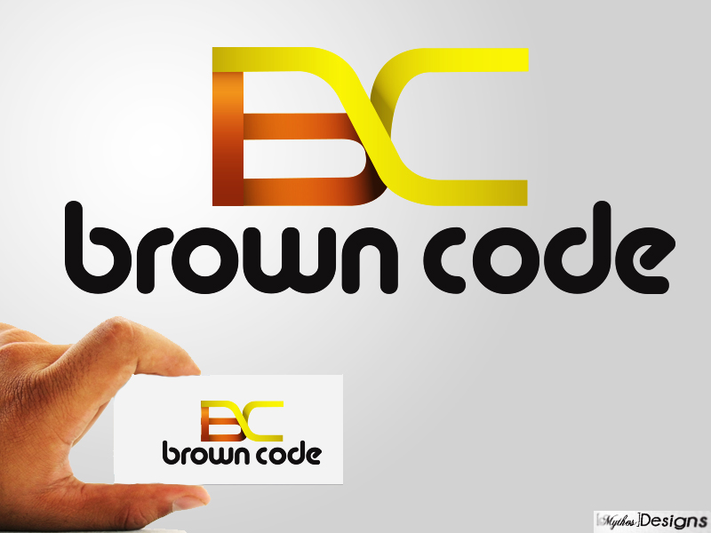Logo Design by Mythos Designs - Entry No. 80 in the Logo Design Contest New Logo Design for Brown Code.