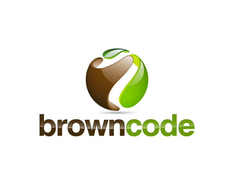 Logo Design by Keyla Dwimaharani - Entry No. 81 in the Logo Design Contest New Logo Design for Brown Code.